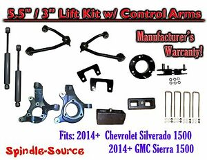 2014 Chevy Silverado Gmc Sierra 5 5 3 Spindle Lift Control Arms