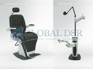S4optik New 2000 Examination Chair W 2000 Instrument Stand Package
