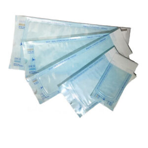 1000 Pcs Self Seal Sterilization Pouch Pouches Bag Dual Indicator 3 5 X 10
