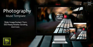 Website Html Photography Muse Template Hosting Domain