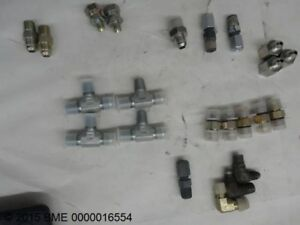 Lot Of Assorted Hydraulic Fittings