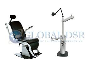 S4optik New 1800 Examination Chair W 1600 Instrument Stand Complete Exam Lane