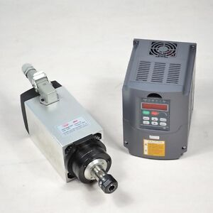 3kw Er20 Four Bearing Air cooled Spindle Motor Matching 3kw Inverter Drive Vfd