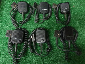 Ge Ericsson Otto Comm M rk Mrk Mr k Uhf Vhf Speaker Mic W ear Bug Jack Lot 6 Bs