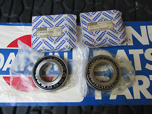 Datsun Nissan 521 620 720 D21 Nos Rear Taper Wheel Bearings 2x 40210 85000