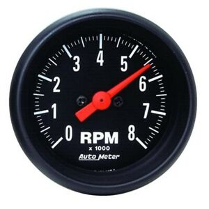 Auto Meter 2698 Z Series Air Core In Dash Tach 8k Rpm 2 1 16 Inch