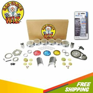 Engine Rebuild Kit Fits 97 02 Chevrolet Pontiac Camaro Firebird 3 8l V6 Ohv 12v