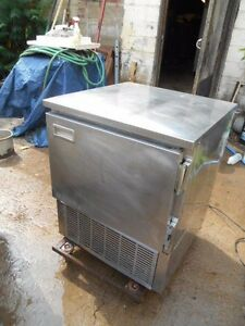 Used Hussman Low Boy Refrigerated Work Table 595