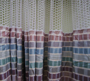 Lot Of 4 pattern A Hospital Privacy cubicle Curtains Flame Retardant