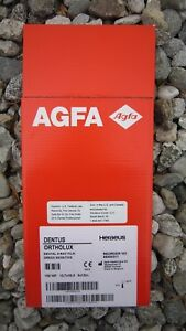 Agfa Dental X ray Film Green Sensitive Ortholux heraeus