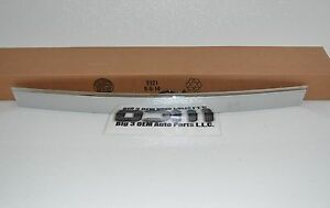 2011 2016 Chevrolet Cruze Rear Trunk Chrome Trim With Lamp Touchpad New Oem
