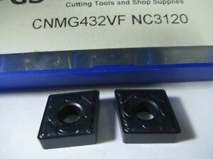Lot 8 Cnmg432vf Lathe Turning Carbide Inserts Machinist Cutting Tool Bits