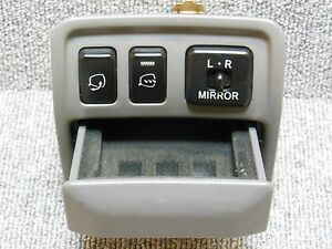 91 1997 Toyota Aristo Jzs147 Lexus Gs300 Heated Side Mirror Switch Set Jdm Oem