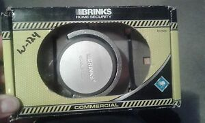 Brinks Commercial Round Hasp zinc Plated Shackless Padlock