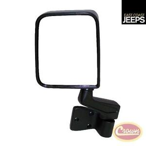 82201773 Crown Left Side Mirror And Arm Black