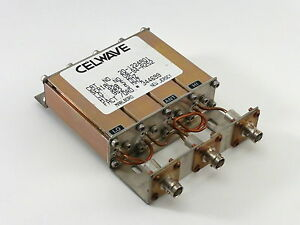 Celwave Uhf Duplexer 928 960 Mhz 4 cavity Bnc Tuned To 928 5 952 5