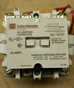 Cutler hammer Latching Lighting Contactor A202k1cam