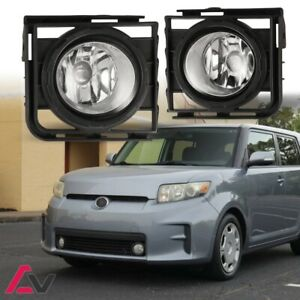 Premium 2011 2015 Scion Xb Clear Fog Light Lamp Kit wiring bulb switch Pair