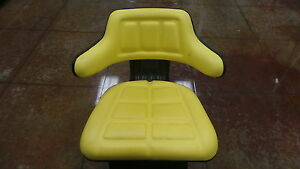 Universal Yellow Seat Suspension Assembly For John Deere Tractors Most Models