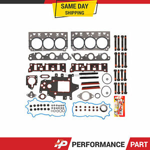 Head Gasket Bolts Set For 96 05 Chevrolet Buick Pontiac Gm Supercharged 3 8 1