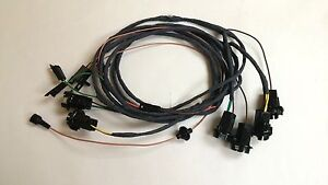 1966 Chevy Caprice Rear Light Wiring Harness 2dr Hardtop Sport Coupe