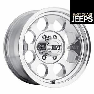 Mickey Thompson Classic Iii 16x10 With 8 On 6 5 Bolt Pattern Polished 9000000