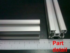 Aluminum T slot 3030 Extruded Profile 30x30 8 Length 500mm 20 4 Pieces Set