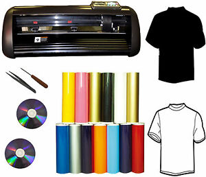New 14 1000g Vinyl Cutter Plotter sign vinyl decal pu Vinyl t shirt Heat Press