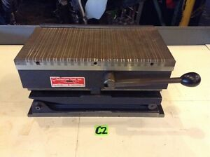Suburban Tool Inc A 10 ms 12 x6 Magna sine Magnetic Compound Sine Plate