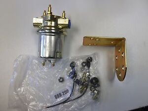 New Universal Marine Rotary In Line Electric 12v Fuel Pump 12 Volt Airtex E84389