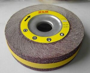10pcs 8in Flap Sanding Wheels 8 X 1 X 1 A o 80 Grit Unmounted Wholesale