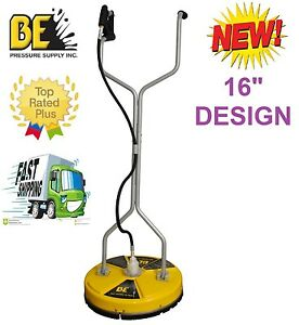 Be Pressure Whirl a way 16 Flat Surface Cleaner washer Concrete Cleaner 16