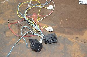 Amp 211758 1 Power Connector Wire Assembly