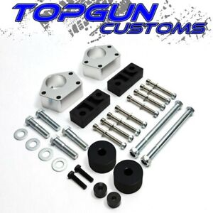 3 Front Leveling Lift Kit Diff Drop 4wd Silver For 1984 1995 Toyota Ifs 4runner