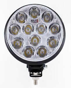 5 Inch 12 Led Round Work Spot Light 36w Off Road Jeep Truck 4x4 Lamp Qty 2