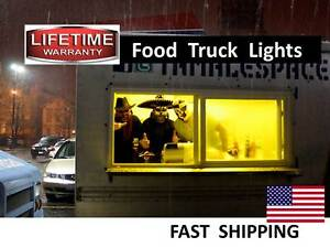 New Or Used Food Cart Truck Trailer Led Lighting Kits Bright Video