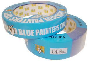 10 Rolls Blue Painters Masking Tape Talon Tape 1 Inch X 60 Yds