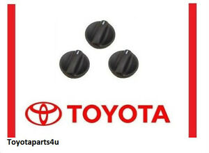 Toyota Tundra 2000 2006 A C Heater Knob Set Of 3 Genuine Oem 55905 0c010