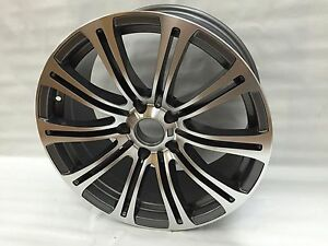 18x8 Bmw M6 Replica Rims Machine Gunmetal Wheels Winter Rims 3 Series 328 330i