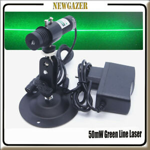 5 12v 532nm 50mw Industrial Green Laser Line Module For Stone wood Cut Locating