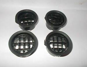 Dash Vents Heater Ac Qty 4 Complete Set Suzuki Samurai 85 88
