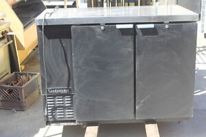 Back Bar Refrigerator By Continental Self Contained