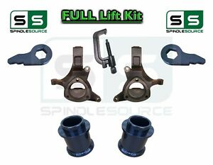 2000 06 Chevy Gmc Suv Tahoe Yukon Avalanche 5 2 Spindle Lift Kit Tool