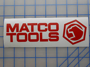 Matco Tools Sticker 3 5 5 7 5 11 Ratchet Wrench Socket Set Screwdriver