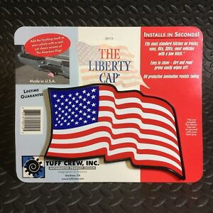 Liberty Cap American Flag Truck Suv Van Trailer 2 Hitch Cover Receiver New