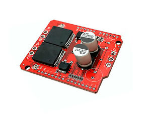 Moto Shield For Stepper Motor Driver Arduino Replace L298n Dual Vnh2sp30