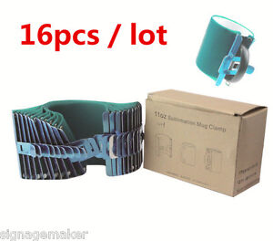 16pcs 3d Sublimation Silicone Mug Wrap 11oz Cup Clamp Fixture For Printing Mugs