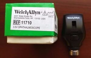 Welch Allyn Halogen Ophthalmoscope Head Only 3 5v 11710 New In Box