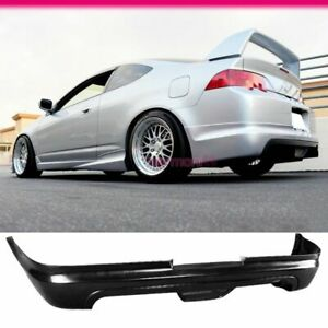 Fits 02 04 Acura Rsx Mugen Style Rear Bumper Lip Spoiler Urethane