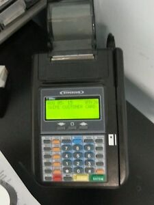 Hypercom Credit Card Machine